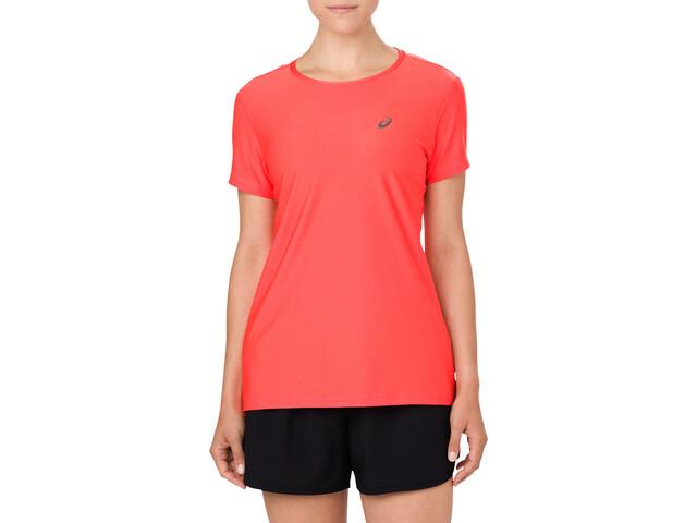 asics SS Top Løbe T-shirt Damer rød | Trøjer